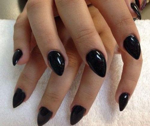 Short Dipped Nails