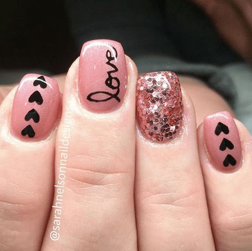 Valentine Inspired Nails
