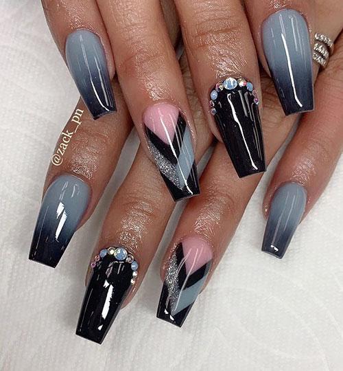 Nail Designs Coffin Nails
