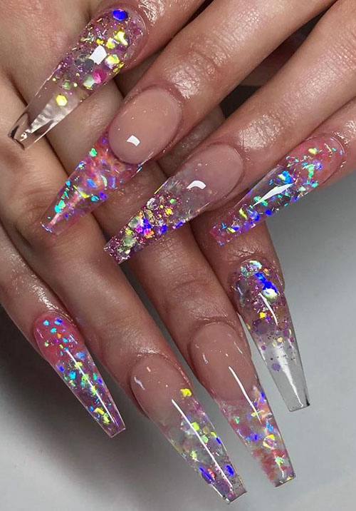 Designs On Coffin Nails