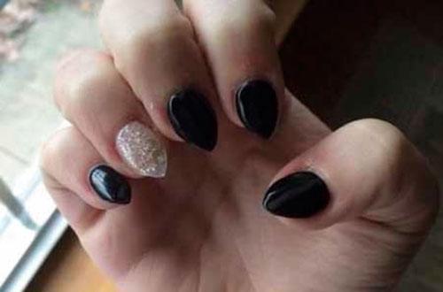 Very Short Stiletto Nails