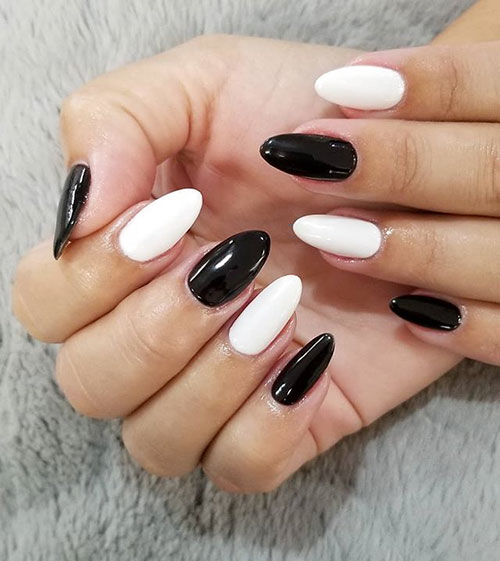 Black And White Nail Ideas