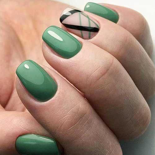 Cut Out Nail Shape