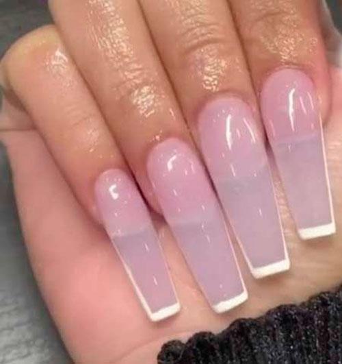 Acrylic Nails Square Long