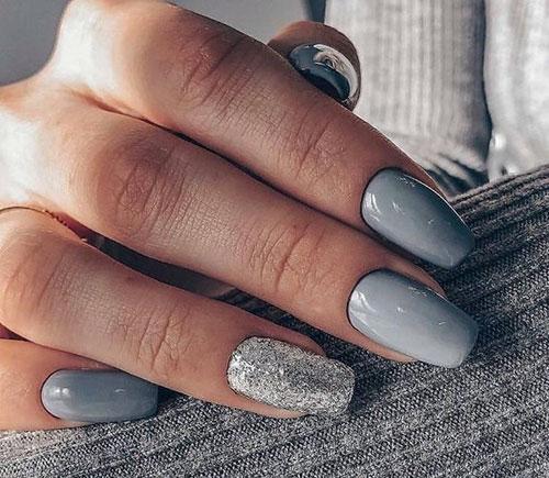 Grey Nail Ideas