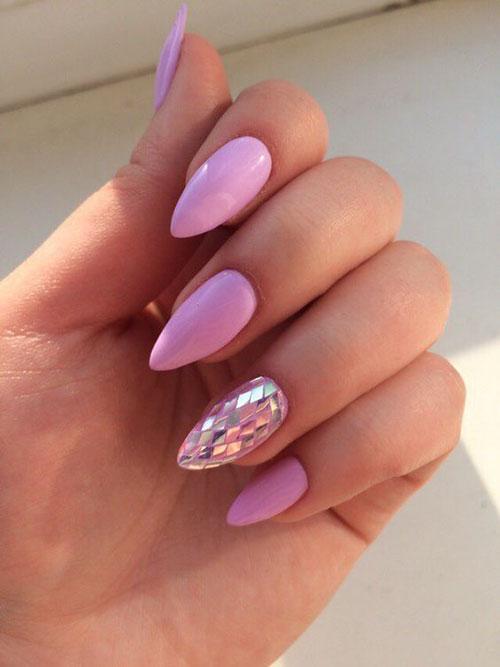 Short Stiletto Nails