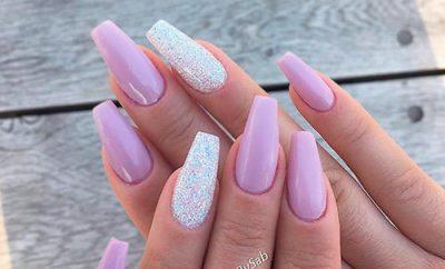 shape ballerina nails  best nail art designs 2020