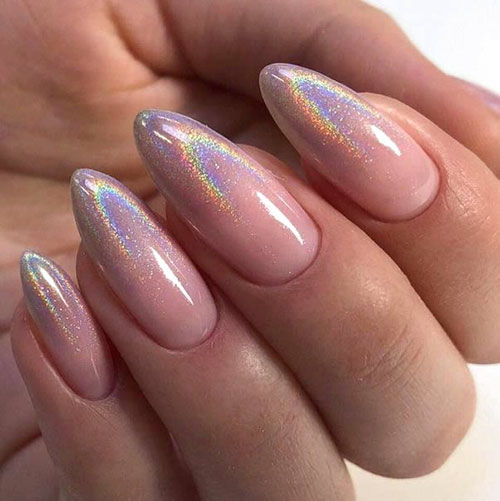 Long Almond Nails