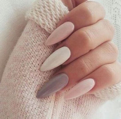 Almond Long Nails