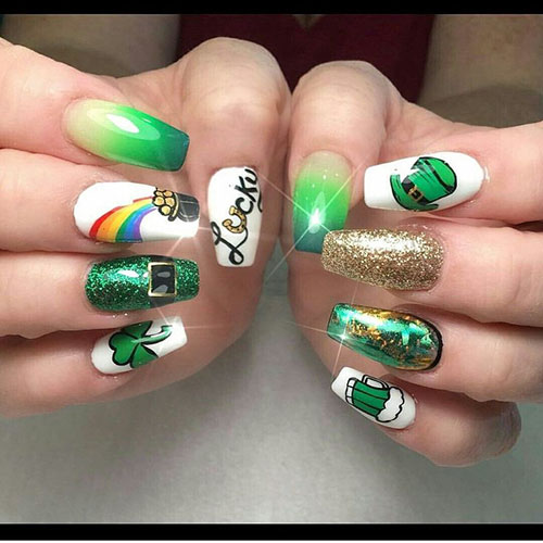 Labor Day Nail Designs