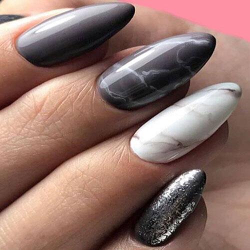Almond Long Nails