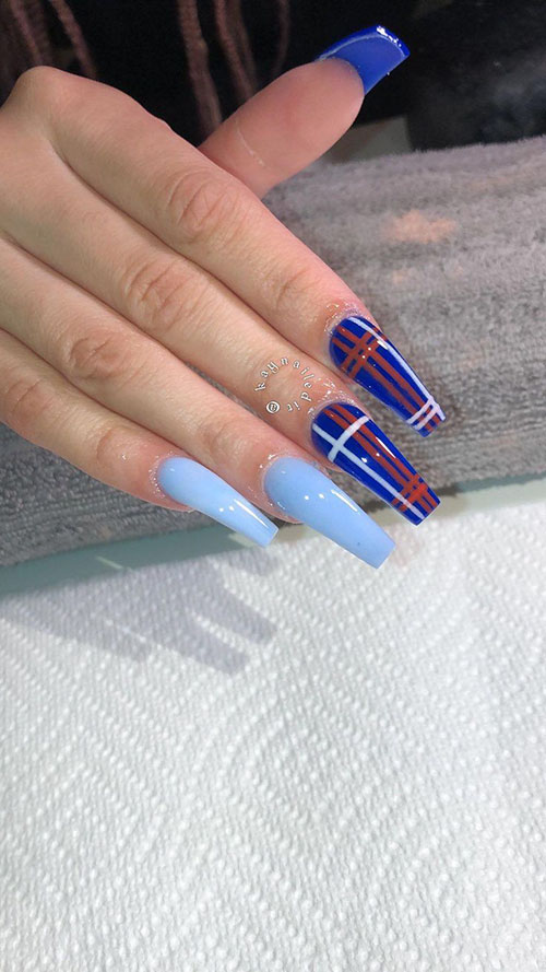 Long Gel Nails