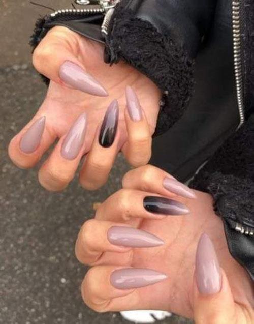 Long Almond Nails
